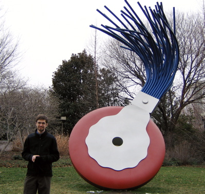 Claes Oldenburg In DC
